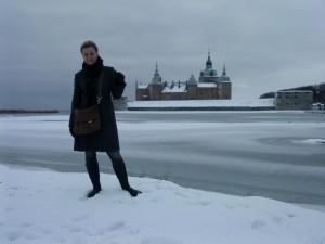 Kalmar slott julafton 2009